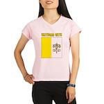 Vatican City Flag Performance Dry T-Shirt