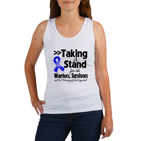 Stand Colon Cancer Women's Tank Top