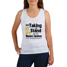 Stand Childhood Cancer Women's Tank Top