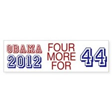 Obama 44 Bumper Sticker