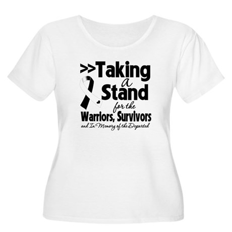 Stand Carcinoid Cancer Women's Plus Size Scoop Nec