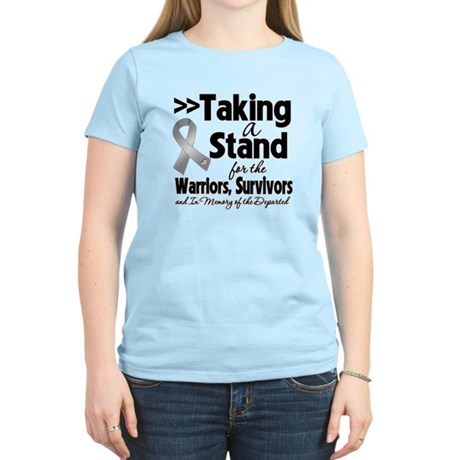 Stand Brain Cancer Women's Light T-Shirt