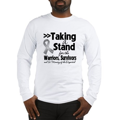 Stand Brain Cancer Long Sleeve T-Shirt