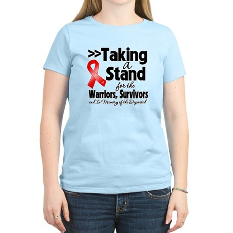 Stand Blood Cancer Women's Light T-Shirt
