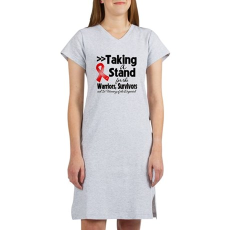 Stand Blood Cancer Women's Nightshirt