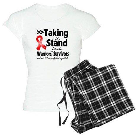 Stand Blood Cancer Women's Light Pajamas