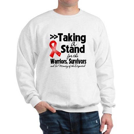 Stand Blood Cancer Sweatshirt