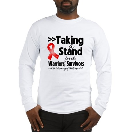 Stand Blood Cancer Long Sleeve T-Shirt