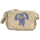Cute Blue Bunny Messenger Bag