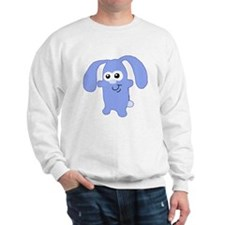 Cute Blue Bunny Sweatshirt