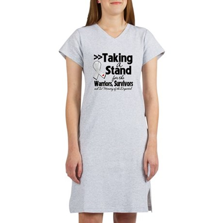 Stand Bone Cancer Women's Nightshirt