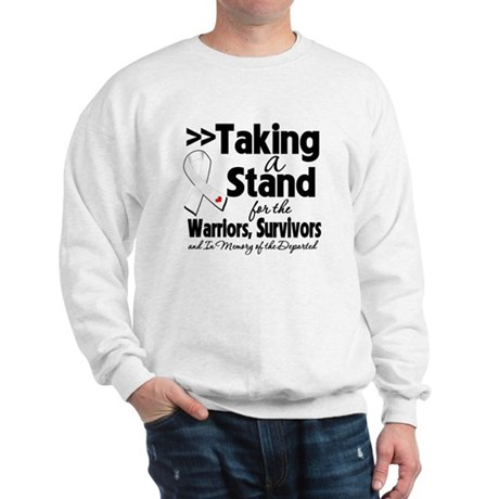 Stand Bone Cancer Sweatshirt