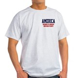AMERICA: Geniuses - Idiots T-Shirt