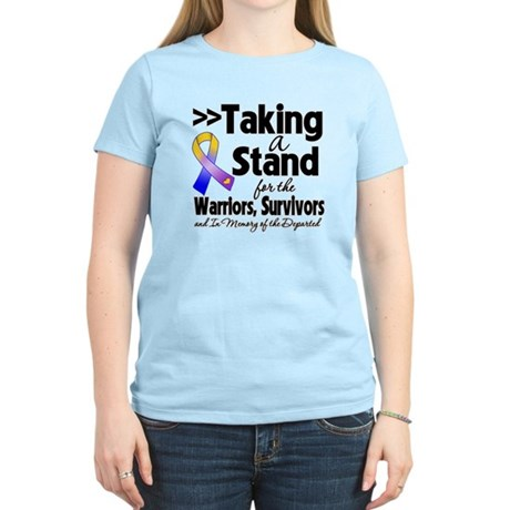 Stand Bladder Cancer Women's Light T-Shirt