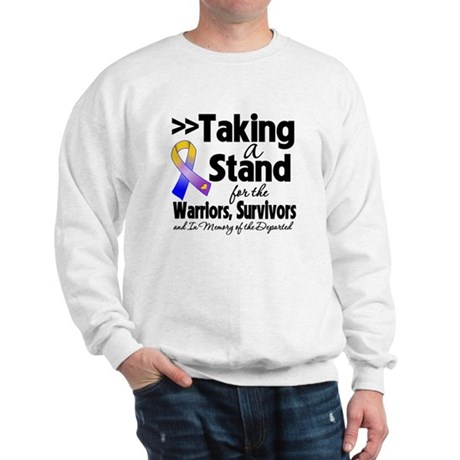 Stand Bladder Cancer Sweatshirt