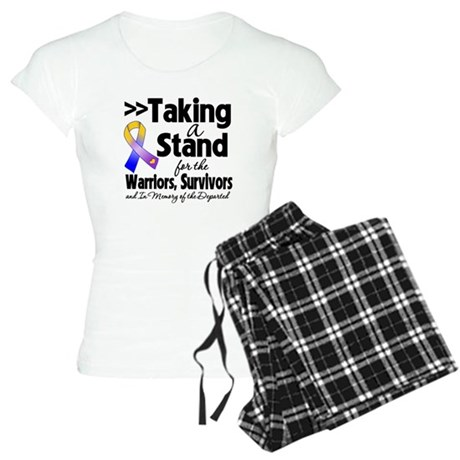 Stand Bladder Cancer Women's Light Pajamas