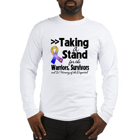 Stand Bladder Cancer Long Sleeve T-Shirt