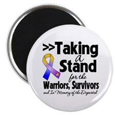 "Stand Bladder Cancer 2.25"" Magnet (10 pack)"