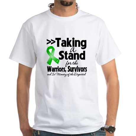 Stand Bile Duct Cancer White T-Shirt