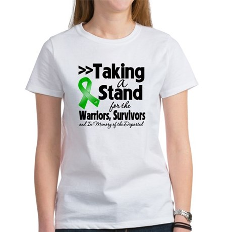 Stand Bile Duct Cancer Women's T-Shirt