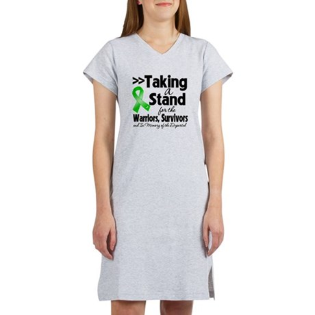 Stand Bile Duct Cancer Women's Nightshirt