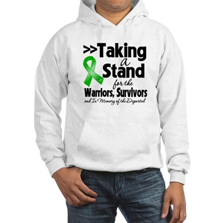 Stand Bile Duct Cancer Hooded Sweatshirt