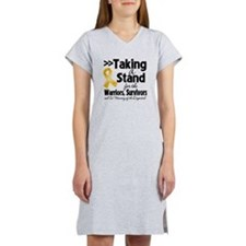 Stand Appendix Cancer Women's Nightshirt