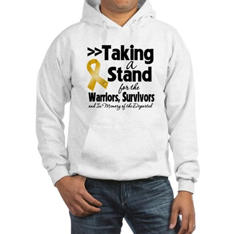 Stand Appendix Cancer Hooded Sweatshirt