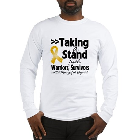 Stand Appendix Cancer Long Sleeve T-Shirt