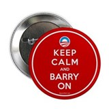 "Keep Calm And Barry On 2.25"" Button"