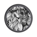 Sugar Glider Wall Clock