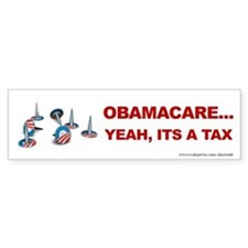 Obamacare Tax, Bumper Sticker