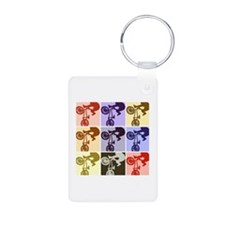 BMX Bike Rider/Pop Art Keychains