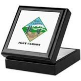 Fort Carson with Text Keepsake Box
