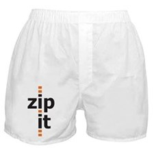 Zip It Boxer Shorts