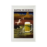 Battle to Survive Rectangle Magnet (10 pack)