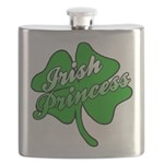 Shamrock Irish Princess Flask