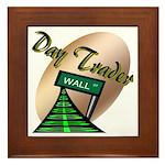 Day Trader Framed Tile