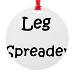 leg-spreader.png Round Ornament