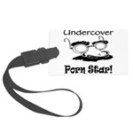 undercover-porn-star.png Large Luggage Tag