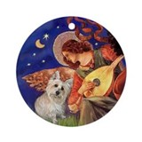 Angel3 - Cairn Terrier #1 - Ornament (Round)