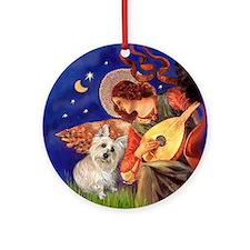 Angel3 - Cairn Terrier #1 - Ornament (Round)