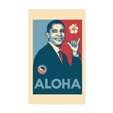 Obama Aloha Decal