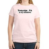 Yorkville - hometown Women's Pink T-Shirt
