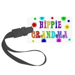 hippie_grandma01.png Large Luggage Tag