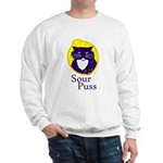 Funny Sour Puss Cat Sweatshirt