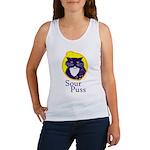 Funny Sour Puss Cat Women's Tank Top