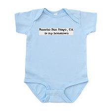 Rancho San Diego - hometown Infant Creeper