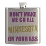 Minnesota Football Flask