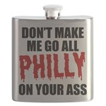 Philadelphia Baseball Flask